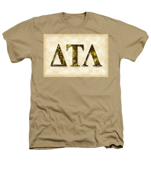 Delta Tau Lambda - Parchment Heathers T-Shirt by Stephen Younts