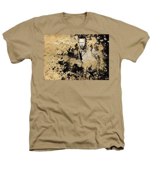 Eric Clapton 3 Heathers T-Shirt by Bekim Art