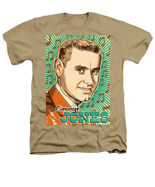 George Jones Pop Art Heathers T-Shirt by Jim Zahniser