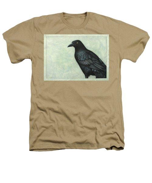 Grackle Heathers T-Shirt by James W Johnson