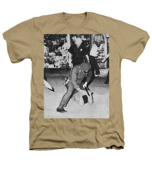 Harlem Race Riots Heathers T-Shirt by Underwood Archives