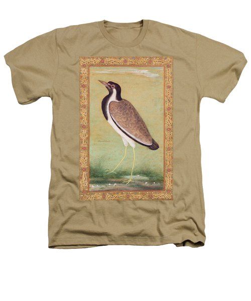Indian Lapwing Heathers T-Shirt by Mansur
