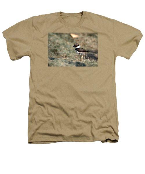 Its A Killdeer Babe Heathers T-Shirt by Skip Willits