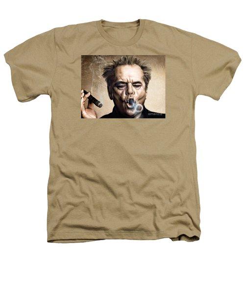 Jack Nicholson Heathers T-Shirt by Andrzej Szczerski