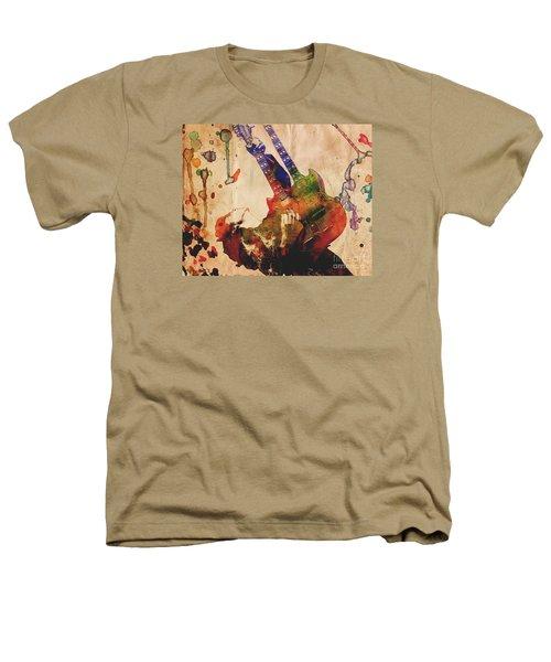 Jimmy Page - Led Zeppelin Heathers T-Shirt by Ryan Rock Artist