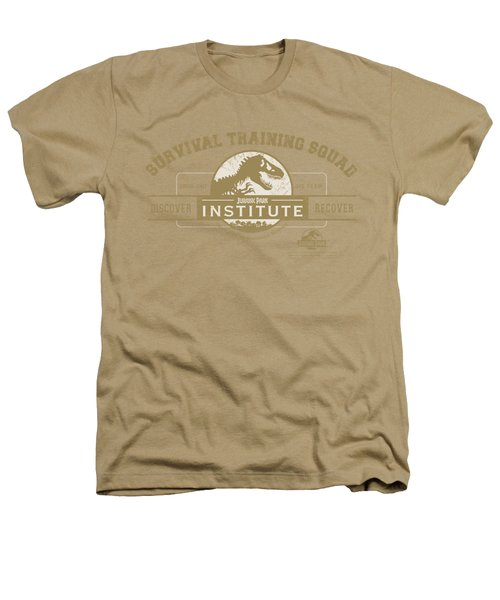 Jurassic Park - Survival Training Squad Heathers T-Shirt by Brand A