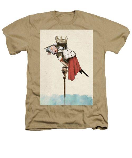 Kingfisher Heathers T-Shirt by Eric Fan