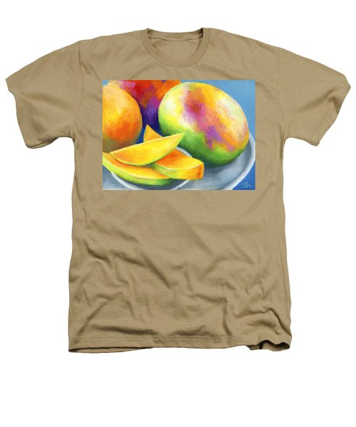 Last Mango In Paris Heathers T-Shirt by Stephen Anderson