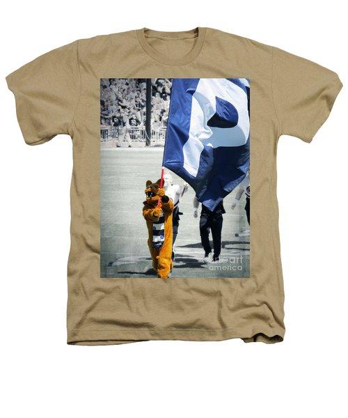Lion Leading The Team Heathers T-Shirt by Dawn Gari