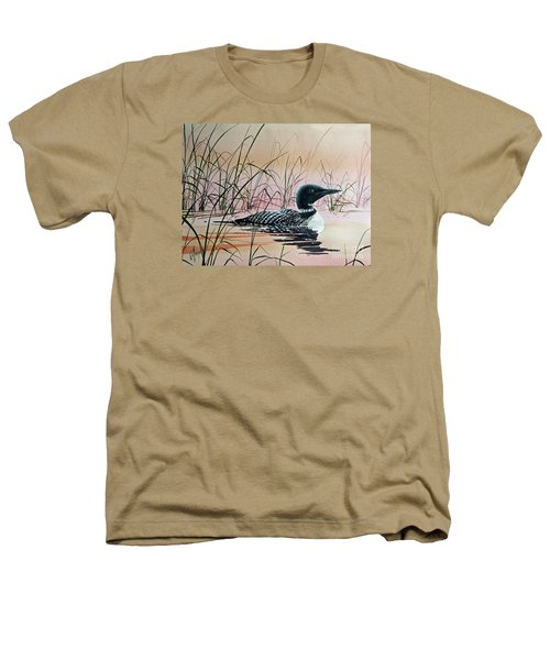 Loon Sunset Heathers T-Shirt by James Williamson