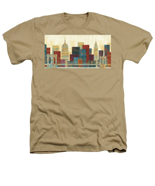 Majestic City Heathers T-Shirt by Michael Mullan