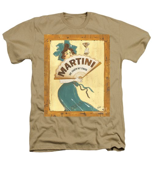 Martini Dry Heathers T-Shirt by Debbie DeWitt