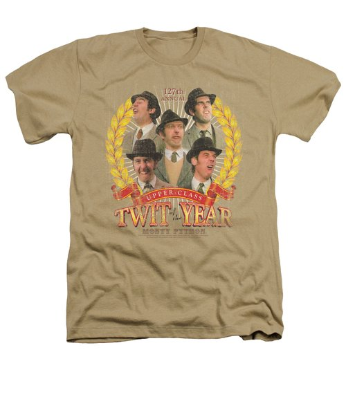 Monty Python - Twit Of The Year Heathers T-Shirt by Brand A
