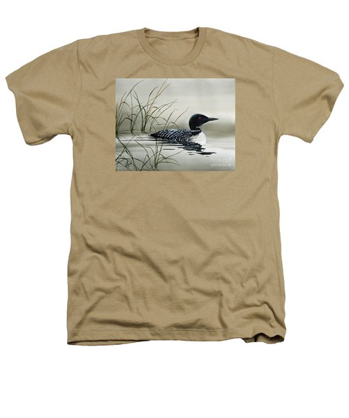 Nature's Serenity Heathers T-Shirt by James Williamson