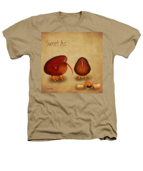 New Arrival. Kiwi Bird - Sweet As - Boy Heathers T-Shirt by Marlene Watson