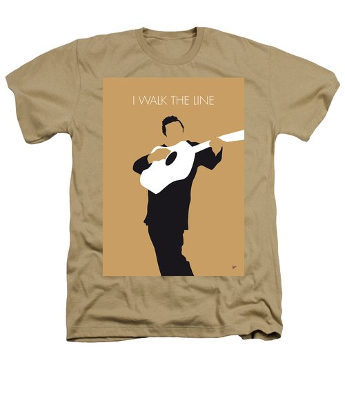 No010 My Johnny Cash Minimal Music Poster Heathers T-Shirt by Chungkong Art