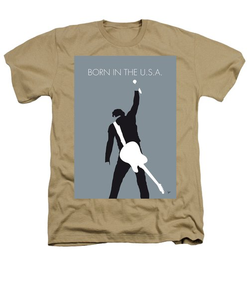 No017 My Bruce Springsteen Minimal Music Poster Heathers T-Shirt by Chungkong Art