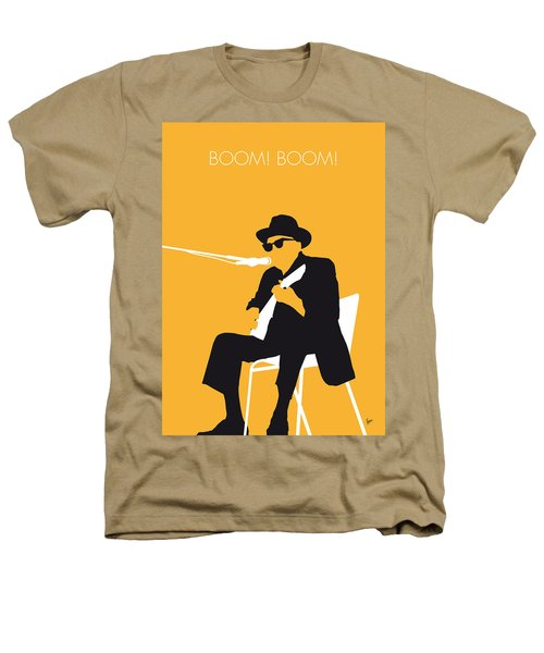 No054 My Johnny Lee Hooker Minimal Music Poster Heathers T-Shirt by Chungkong Art
