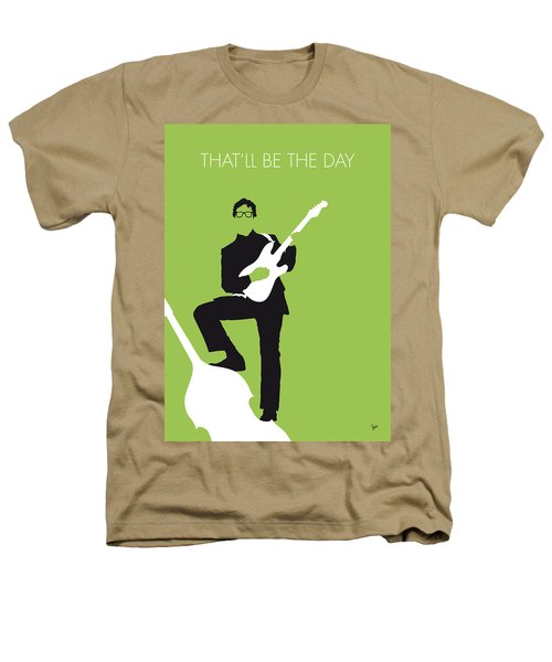 No056 My Buddy Holly Minimal Music Poster Heathers T-Shirt by Chungkong Art
