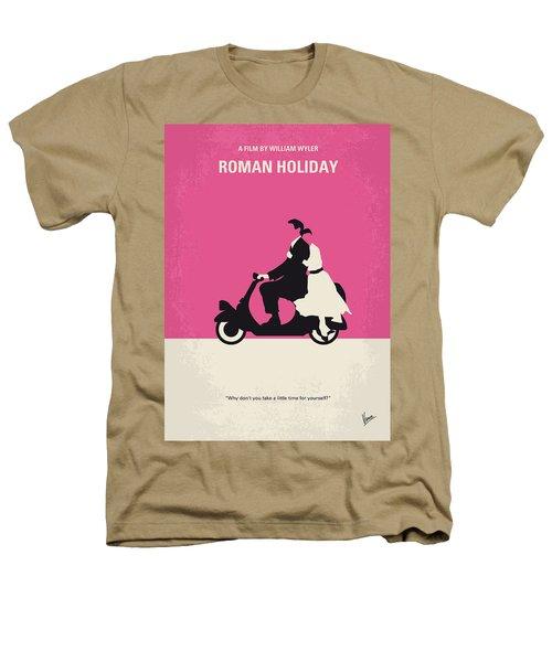 No205 My Roman Holiday Minimal Movie Poster Heathers T-Shirt by Chungkong Art