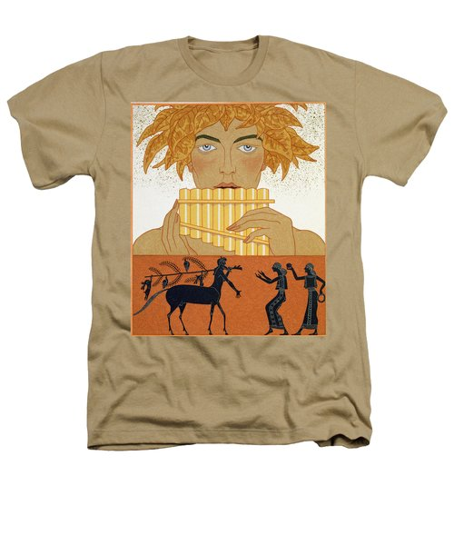 Pan Piper Heathers T-Shirt by Georges Barbier
