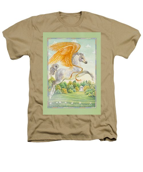 Pegasus Heathers T-Shirt by Lynn Bywaters