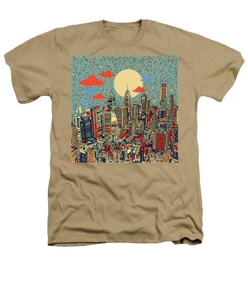 Philadelphia Dream 2 Heathers T-Shirt by Bekim Art