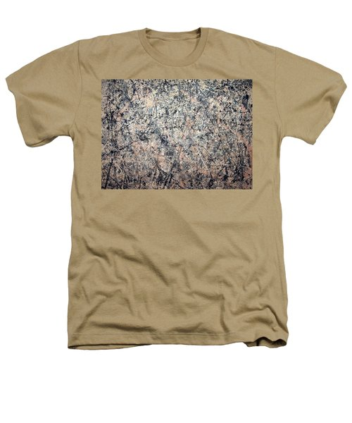 Pollock's Number 1 -- 1950 -- Lavender Mist Heathers T-Shirt by Cora Wandel