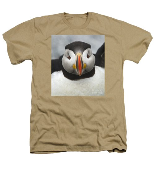 Puffin It Up... Heathers T-Shirt by Nina Stavlund