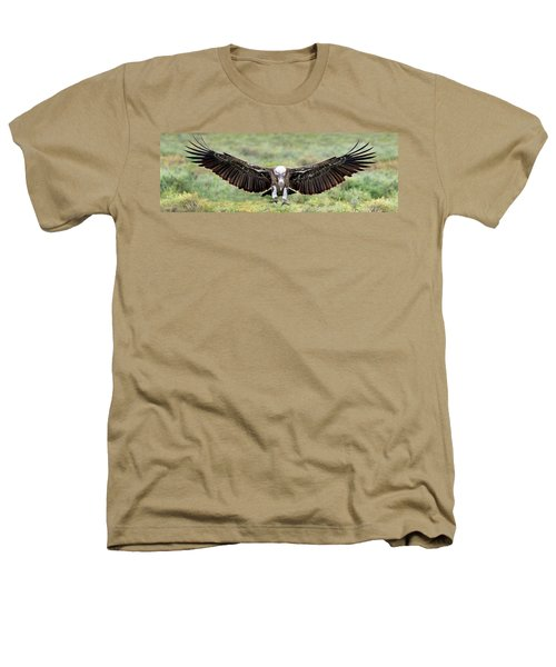 Ruppells Griffon Vulture Gyps Heathers T-Shirt by Panoramic Images