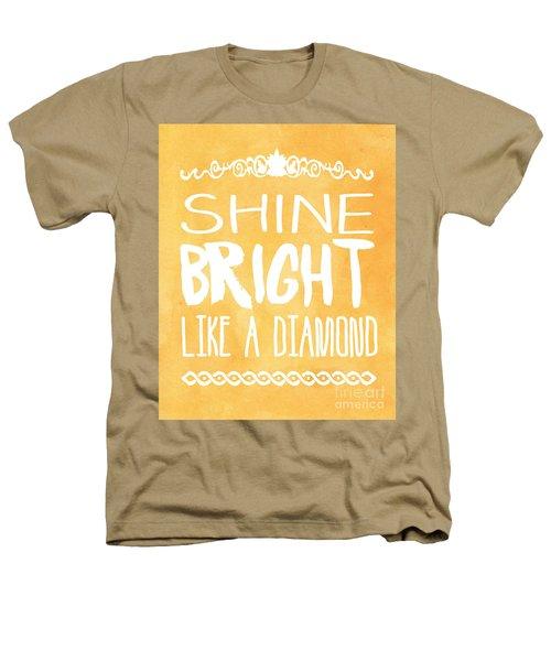Shine Bright Orange Heathers T-Shirt by Pati Photography
