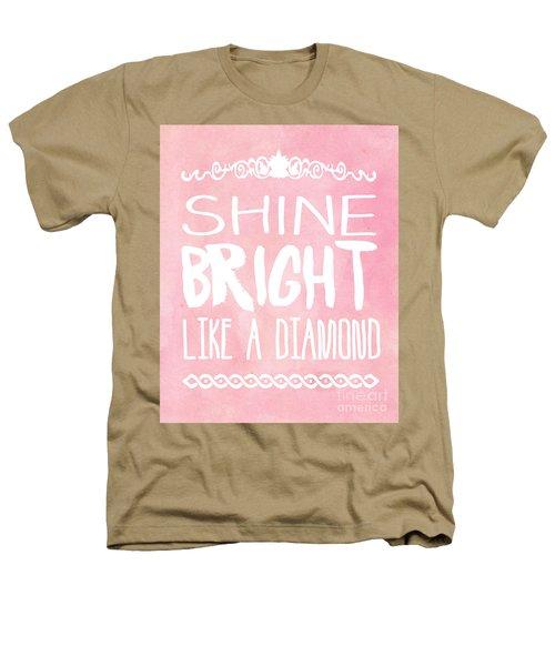 Shine Bright Heathers T-Shirt by Pati Photography
