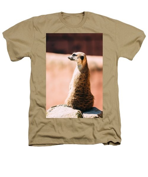 The Lonely Meerkat Heathers T-Shirt by Pati Photography