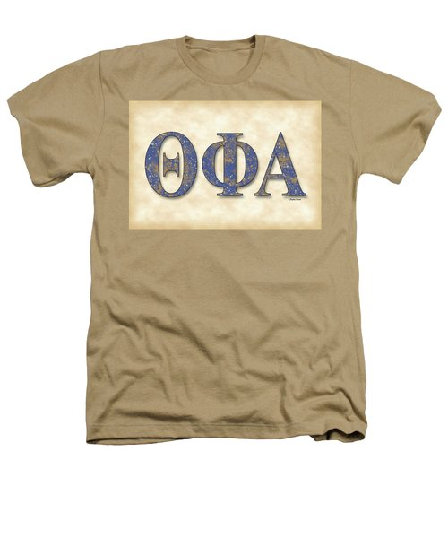 Theta Phi Alpha - Parchment Heathers T-Shirt by Stephen Younts