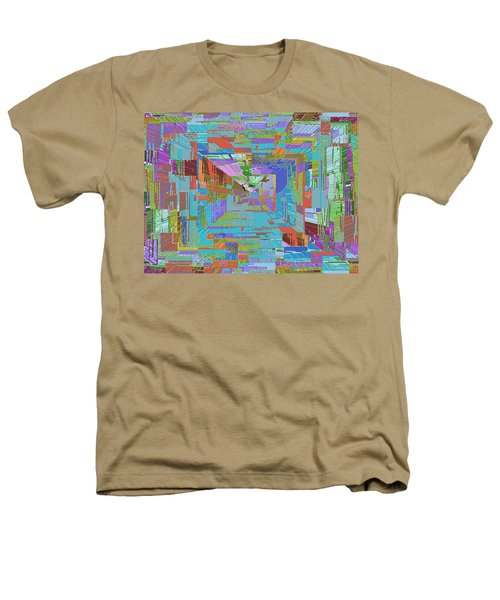 Topographic Albatross Heathers T-Shirt by Tim Allen