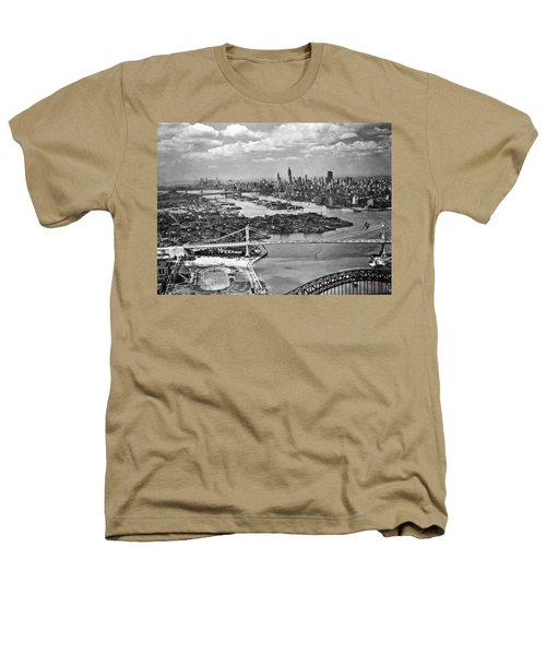 Triborough Bridge Is Completed Heathers T-Shirt by Underwood Archives