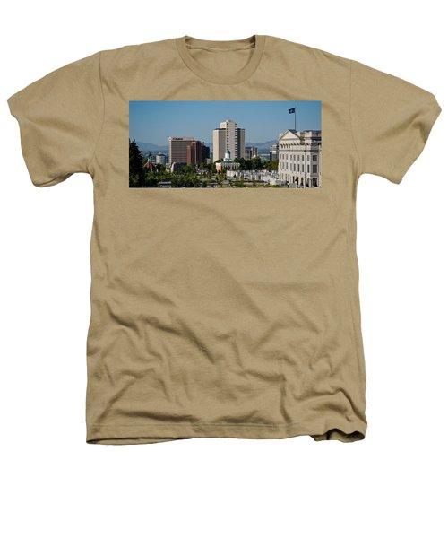 Utah State Capitol Building, Salt Lake Heathers T-Shirt by Panoramic Images