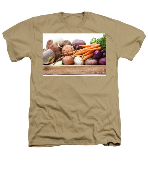 Veg Box Heathers T-Shirt by Anne Gilbert