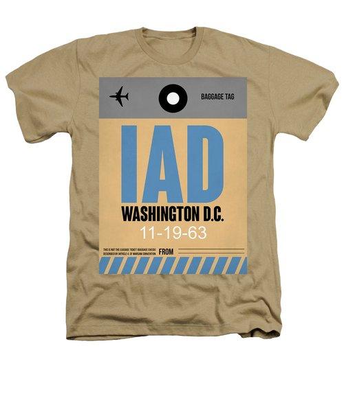 Washington D.c. Airport Poster 3 Heathers T-Shirt by Naxart Studio