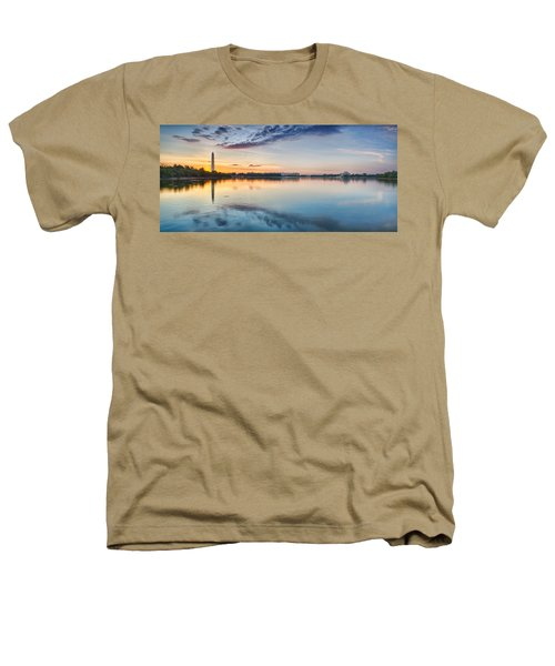 Washington Dc Panorama Heathers T-Shirt by Sebastian Musial