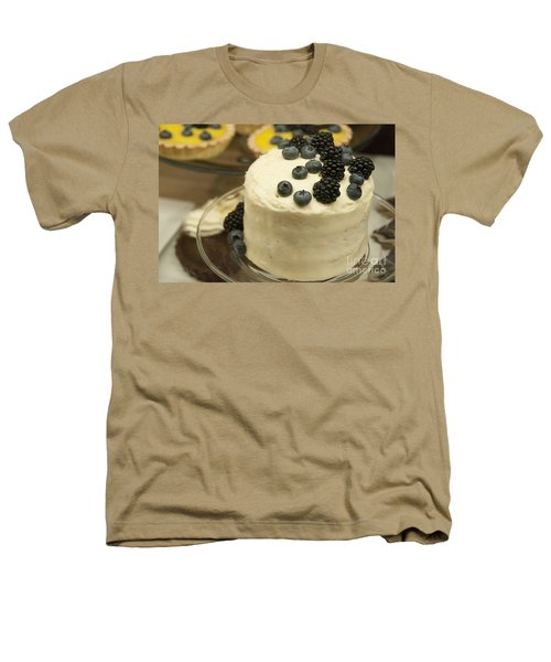 White Frosted Cake With Berries Heathers T-Shirt by Juli Scalzi