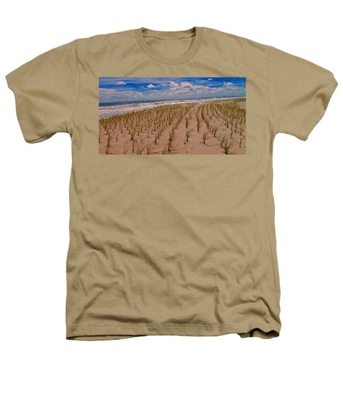 Wildwood Beach Breezes  Heathers T-Shirt by David Dehner