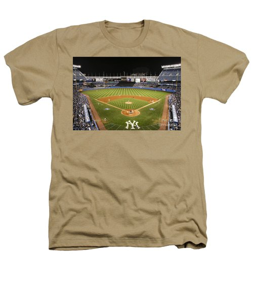 Yankee Stadium Heathers T-Shirt by Chuck Spang