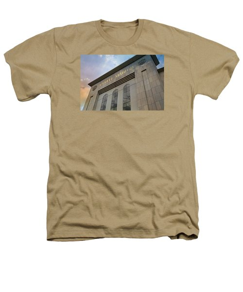 Yankee Stadium Heathers T-Shirt by Stephen Stookey