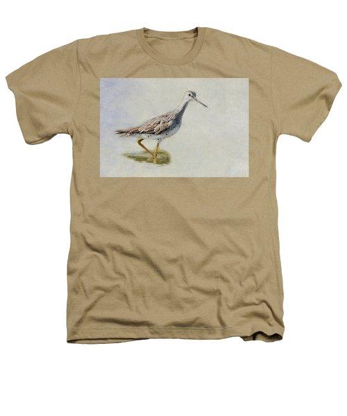Yellowlegs Heathers T-Shirt by Bill Wakeley