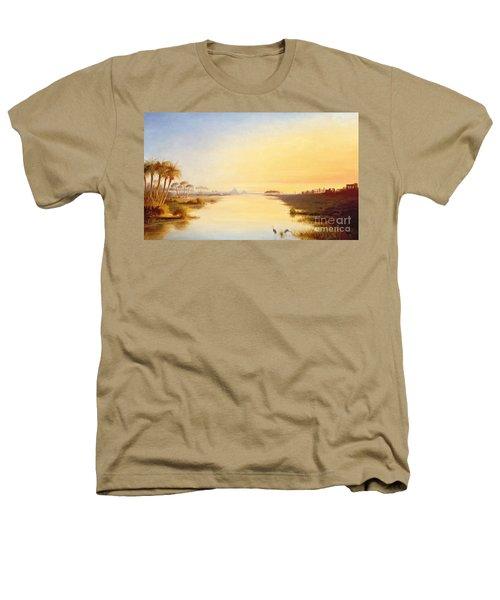 Egyptian Oasis Heathers T-Shirt by John Williams