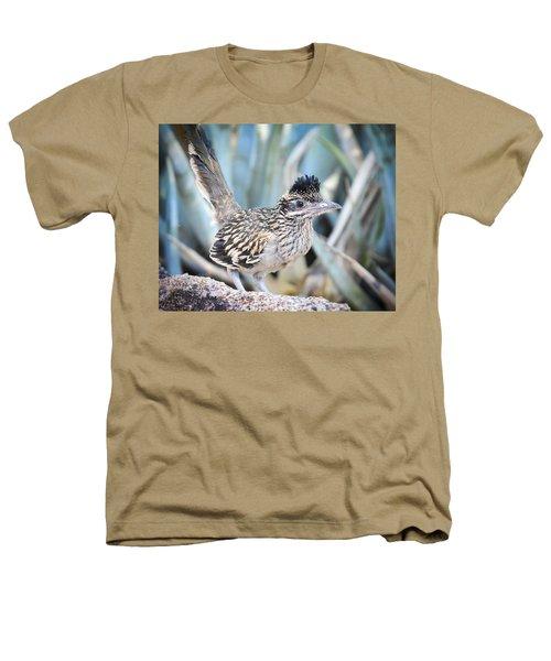 A Juvenile Greater Roadrunner  Heathers T-Shirt by Saija  Lehtonen