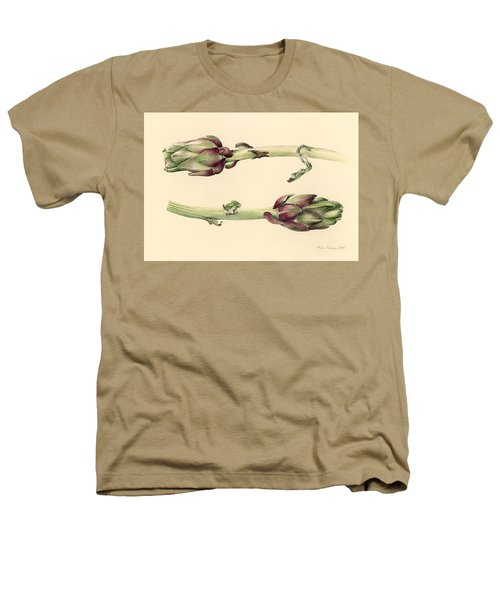 Artichokes Heathers T-Shirt by Alison Cooper