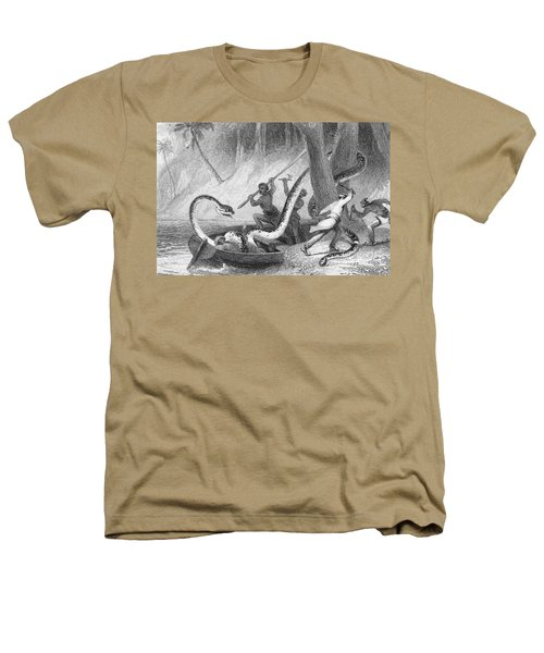 Boa Constrictor Attack Heathers T-Shirt by Granger