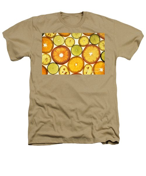 Citrus Slices Heathers T-Shirt by Photo Researchers